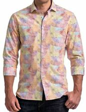 $199 Stone Rose 6140 Mens Red Paisley Long Sleeves Button-Down Shirt Small 2