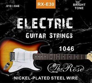 E-Gitarrensaiten Set - Stahlsaiten - The Rose - (010-046) - für E-Gitarren