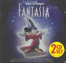 Walt Disney Fantasia Remastered Soundtrack 2 CD Set Stokowski 1990 BMG Direct