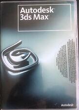 Logiciel Autodesk 3ds Max 2008 - Neuf - Jamais Utiliser. Sceller.