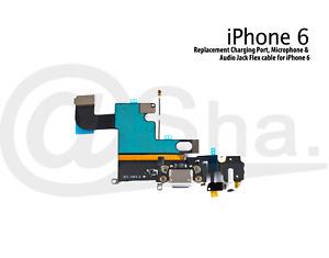 Charging Unit Dock Port & Mic & Headphone Jack Flex Cable For iPhone 6
