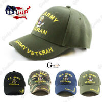 MEN US Military Veteran ARMY Adjustable Polo Baseball Hiking Outdoor  Cap Hat