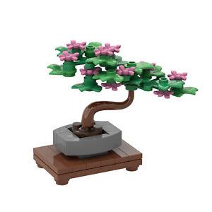 Creative Gift Tiny Bonsai Tree MOC Building Blocks DIY Funny Toy Bricks Model