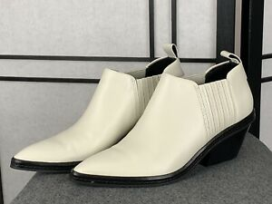 Via Spiga Farly Pointed Toe Western Bootie Size 7