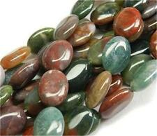 10x14mm Multicolor India Agate Onyx Gem Oval Loose Bead 15''AAA
