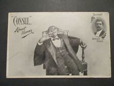 Instructor Consul Almost Human Monkey Suit Sitting Mint Picture Postcard