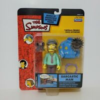 Playmates The Simpsons SARCASTIC MAN Figure World of Springfield Series 14 2003