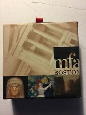 Vintage Mfa Museum of Fine Arts Boston Renoir Glass Paper Weight Paperweight New