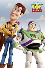 TOY STORY Movie Poster - WOODY & BUZZ - Disney Toy Story Movie poster
