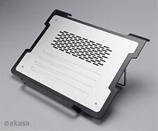 Akasa Alpen Notebook Cooling Stand Adj. Height with 4 Port USB Hub Aluminium