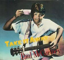 PAUL McCARTNEY Take It Away / I'll Give You A Ring 45 with PicSleeve THE BEATLES