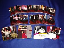 Michael Jackson 2011 Panini Full 190 Card Red Foil Set & 10 Wraps Mint