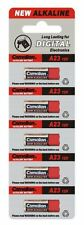 Promotion : 5 Piles alcalines CAMELION A23 LR23A LRV08 GP23A MN21