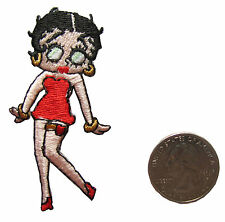 #5145 Betty Boop Embroidery Iron On Badge Applique Patch