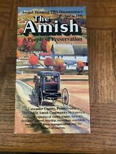 The Amish VHS