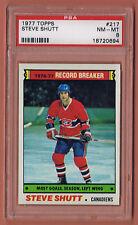 1977-78 Topps #217 Steve Shutt - PSA-8 NmMt