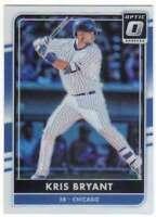 2016 Panini Donruss Optic Chrome Holo Refractor #74 Kris Bryant Cubs