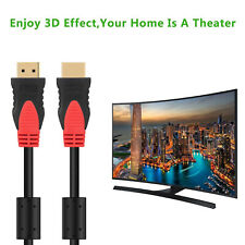 4K HDMI 1.4v Cable Full 1080p@60Hz 3D High Speed Ethernet Extension HD TV 30FT
