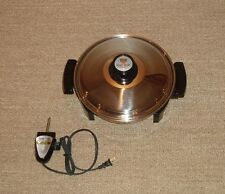 Lustre Craft Oil Core Waterless Electric Skillet Frying Pan - New Display Unit!