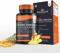 Turmeric Curcumin with BioPerine Black Pepper and Ginger Immune Joint Support US