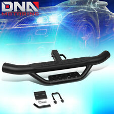 "36""WIDE X 4""OD UNIVERSAL 2"" RECEIVER TRAILER REAR BUMPER ROUND HITCH STEP BAR"