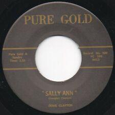 Doug Clayton - Sally Ann /Saturday Night Twist- Pure Gold 45 RE Rockabilly Hear