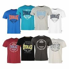 Everlast Gents Mens Printed T-Shirt Tee Top Short Sleeve Crewneck Branded Casual