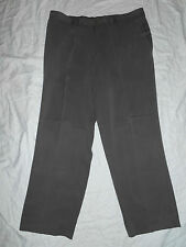 """TOMMY BAHAMA 100% GRAY SILK PANTS  SIZE 38 x 28"""" EXCELLENT...!!"""