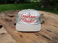 Goo Goo Cluster snap back trucker hat gray baseball Hipster