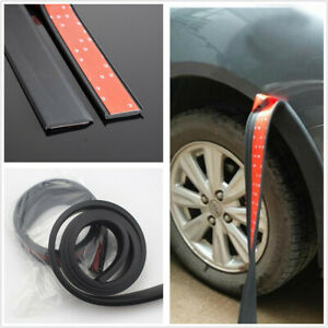 150cm Rubber Protection Anti-collision Strip Universal Fit For Car Fender Flares
