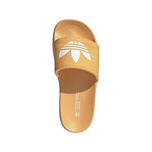 Adidas Adilette Lite Orange Flip Flop Sandals for Women Vegan Friendly