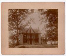 Superb Vintage Photo of Adirondack House