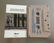 The Man (The Best of Elvis Costello) ~ ELVIS COSTELLO Cassette Tape