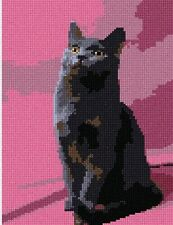 Chartreux Needlepoint Kit or Canvas (Cat/Animal)