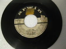 Jan & Arnie(Jan & Dean) I love Linda/The Beat That Can't Be Beat '58 * PROMO* VG