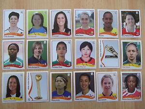 Panini Frauen WM  2011   -   30  Sticker  aussuchen NEU