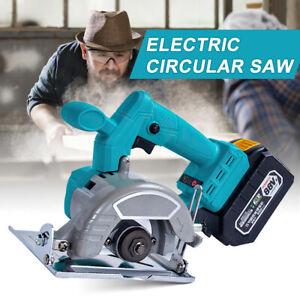 For Makita 18V Battery Electric Cordless Handheld Circular Saw Wood Cutting Tool