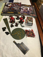 Warmachine Lot Khador MK 3 Painted Battlegroup + Man-o-War + Dice/Tokens/Books