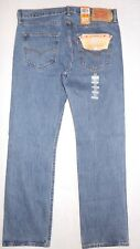 Levis 501 Original Fit Mens Jeans 34X32 Medium Stonewash W34L32 #005010193