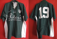 Rugby Shirt Randwick District DRUFC vintage KooGa jersey worn No. 19 - L