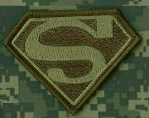 Syria-Iraq Daesh Whacker Vert Béret Sfg Rangers Vêlkrö Patch : Superman Logo
