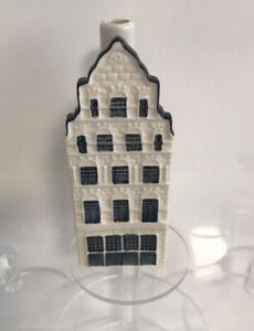 KLM Blue Delft Bols Miniature Houses Amsterdam Number 41 Empty