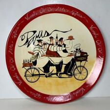 """NEW 13"""" Paris Chefs Certified International JENNIFER GARANT Platter Plate Tray"""