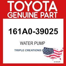 TOYOTA GENUINE 161A039025 PUMP ASSY, ENGINE WATER 161A0-39025