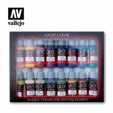 Vallejo VAL72298 Game Color Set - Advanced Set (x16)