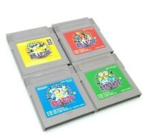 Nintendo - Gameboy - Lot 4x  Pokémon Gameboy - Vert, rouge, Jaune, bleu - JAP