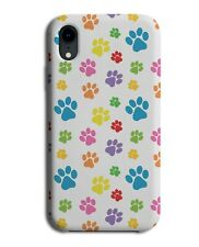 Rainbow Colourful Paw Prints Phone Case Cover Animal Safari Print Pride G811