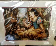 Disney Print Wilson Princess Snow White COA New In Packaging