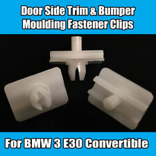 2x Clips for BMW 3 E30 Convertible Door Side Trim Panel Bumper Moulding Plastic