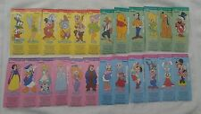 1990 FULL SET OF 24 DISNEYLAND 35TH ANNIV DREAM MACHINE CHARACTER DISNEY TICKETS